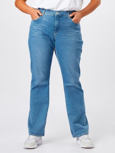 Levi's® Plus Jeans '315' in blau, Modelansicht