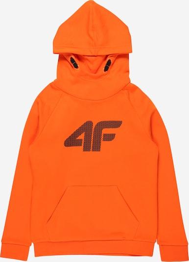 4F Sportsweatshirt in nachtblau / orange, Produktansicht