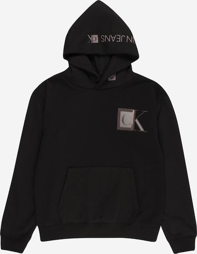 Calvin Klein Jeans Sweat en taupe / greige / noir, Vue avec produit