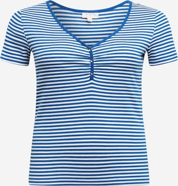 T-shirt ONLY Carmakoma en bleu