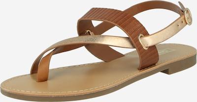 ONLY Sandale 'ONLMELLY' in braun, Produktansicht