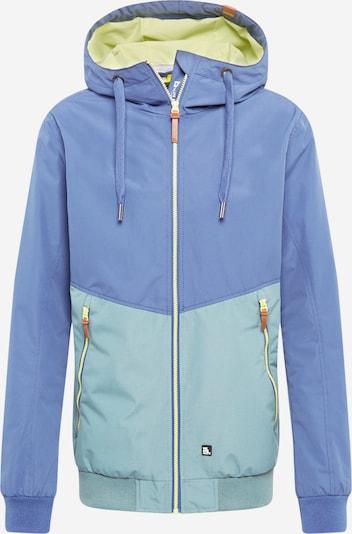 Alife and Kickin Tussenjas 'Don Esteban' in de kleur Smoky blue / Opaal / Geel, Productweergave