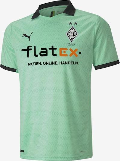 PUMA Ausweichtrikot 'Borussia Mönchengladbach Replica' in mint / orange / schwarz, Produktansicht