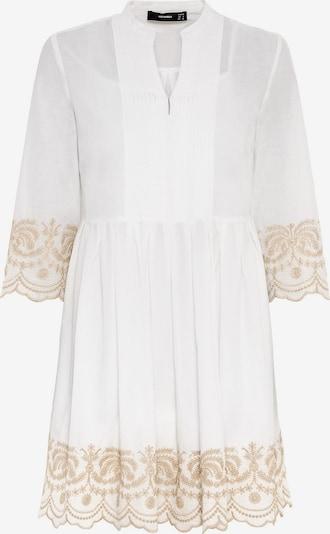 HALLHUBER Hängerkleid in gold / weiß, Produktansicht