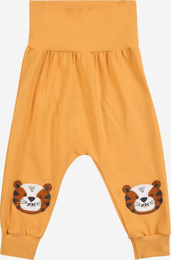 Fred's World by GREEN COTTON Trousers 'Bengal funky' in caramel / light orange / black / white, Item view