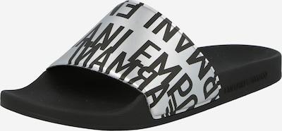 fekete / ezüst Emporio Armani Papucs, Termék nézet