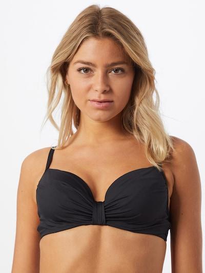 LASCANA Bikini augšdaļa melns, Modeļa skats