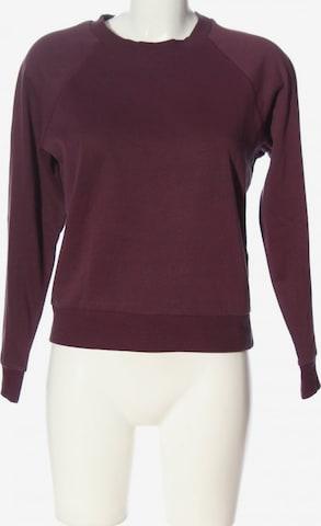 H&M Sweatshirt & Zip-Up Hoodie in S in Pink