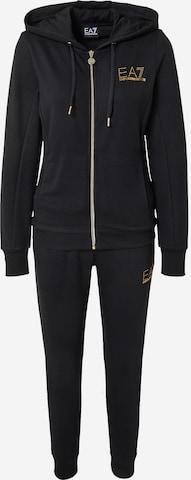 EA7 Emporio Armani Sweat suit in Black
