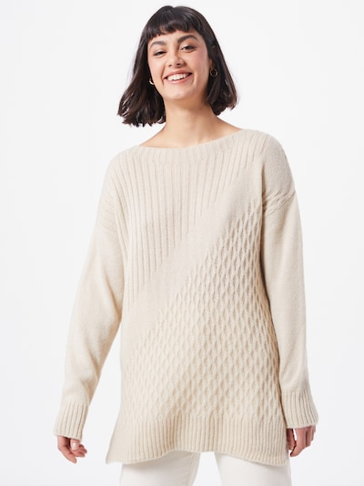Megztinis iš Trendyol , spalva - smėlio: Vaizdas iš priekio