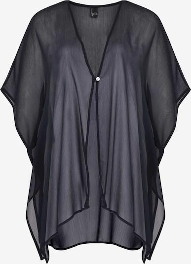 Yoek Blouse in de kleur Donkerblauw, Productweergave