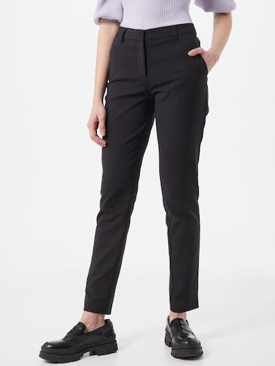 Pantaloni 'Kylie' FIVEUNITS pe negru, Vizualizare model