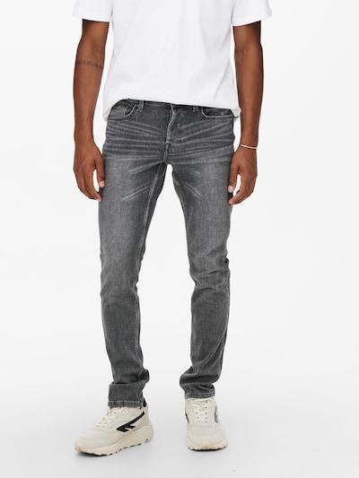 Only & Sons Jeans 'Loom' in de kleur Grey denim, Modelweergave
