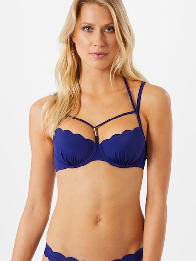 Hunkemöller Bikini top in Indigo, View model