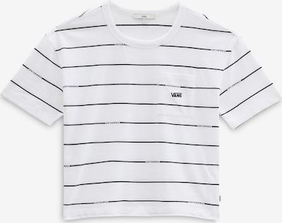 VANS T-Shirt in schwarz / weiß, Produktansicht