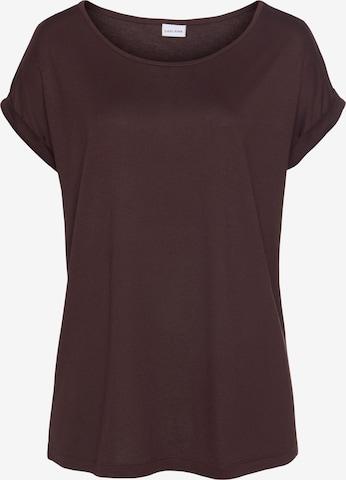 LASCANA Shirt in Lila