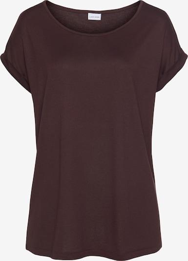 LASCANA Shirt in aubergine, Produktansicht