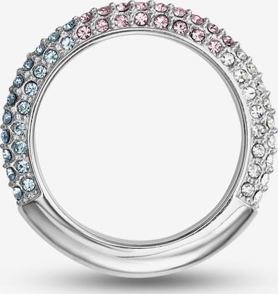 JETTE Ring in silber / transparent, Produktansicht