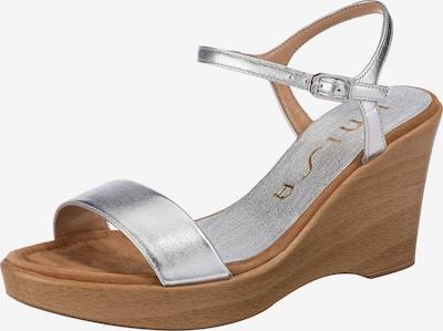 UNISA Sandalette 'Rita' in silber, Produktansicht
