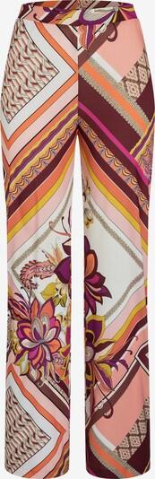Ana Alcazar Broek ' Durisy ' in de kleur Bruin / Sinaasappel / Pink, Productweergave