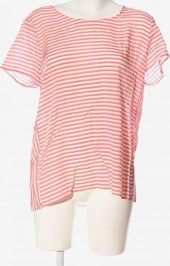 re.draft Kurzarm-Bluse in M in pink / weiß, Produktansicht