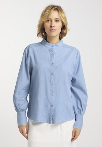usha BLUE LABEL Bluse in Blau
