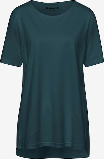 Green Cotton Shirt in petrol, Produktansicht