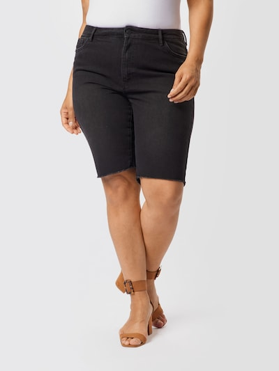 Vero Moda Curve Nohavice - čierna, Model/-ka