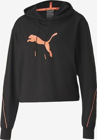 PUMA Sportsweatshirt in orange / schwarz, Produktansicht