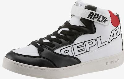 REPLAY Sneaker in rot / schwarz / weiß, Produktansicht