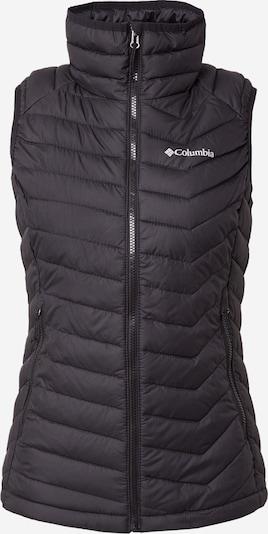COLUMBIA Sportweste 'POWDER LITE' in schwarz / weiß, Produktansicht
