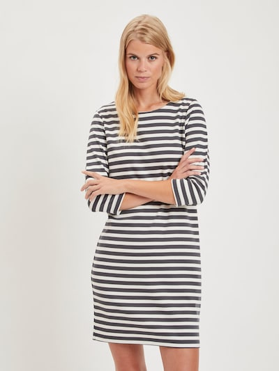 VILA Šaty 'Vitinny' - modrá / biela, Model/-ka
