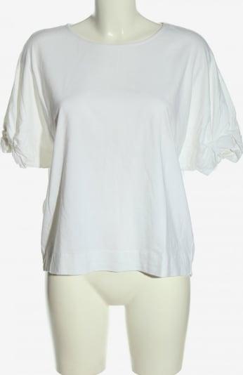 s.Oliver Kurzarm-Bluse in M in weiß, Produktansicht