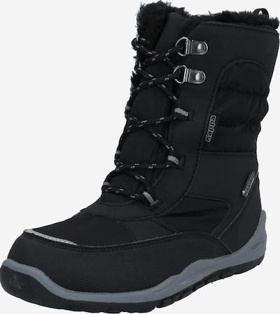 KAPPA Bottes de neige en gris / noir, Vue avec produit