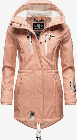MARIKOO Funktsionaalne mantel 'Zimtzicke', värv roosa