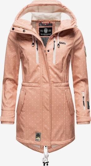 Cappotto funzionale 'Zimtzicke' MARIKOO di colore rosé / bianco, Visualizzazione prodotti