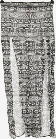 H&M Maxirock in XS in schwarz / weiß, Produktansicht