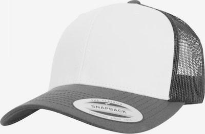 Flexfit Cap 'Retro Trucker' in dunkelgrau / weiß, Produktansicht