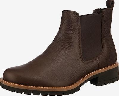 ECCO Chelsea Boots 'Elaine' en brun foncé, Vue avec produit