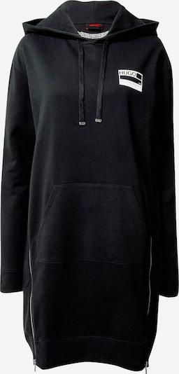 HUGO Obleka | črna barva, Prikaz izdelka