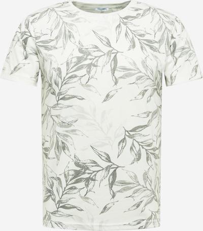 Key Largo Shirt 'LEAVES' in de kleur Kaki / Wit, Productweergave