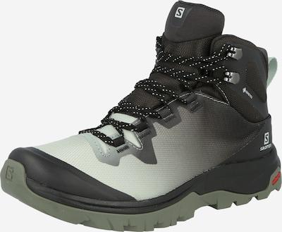 SALOMON Boots 'VAYA' en gris foncé / blanc, Vue avec produit