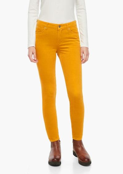 s.Oliver Pantalon en jaune, Vue avec modèle