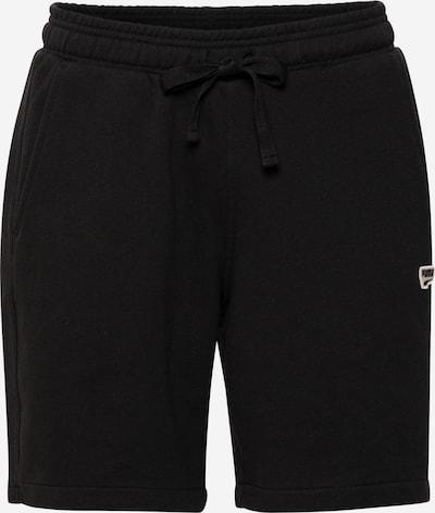 PUMA Pantalon 'Downtown' en noir / blanc, Vue avec produit