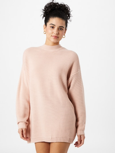 Missguided Kleid in pastellpink, Modelansicht