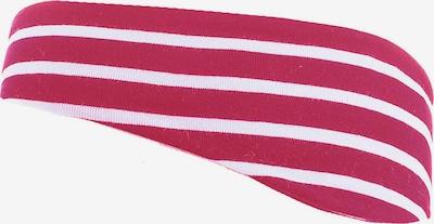 MAXIMO Stirnband in dunkelpink / weiß, Produktansicht