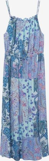 MANGO Haljina 'Mysuru' u plava / miks boja, Pregled proizvoda
