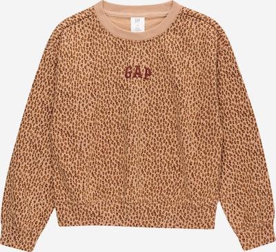 GAP Sweatshirt in de kleur Lichtblauw / Bruin / Donkerbruin, Productweergave