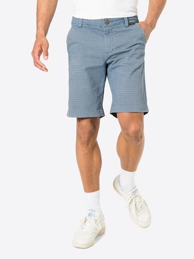 Ragwear Pantalon chino 'CANNE' en bleu / bleu-gris, Vue avec modèle