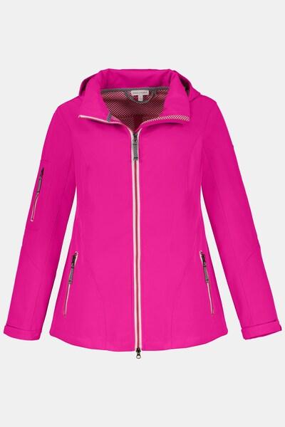 Gina Laura Softshell-Jacke in pink, Produktansicht